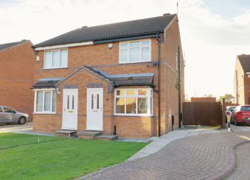 Thumbnail 2 bedroom semi-detached house for sale in Cawthorne Drive, Hull