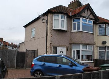Thumbnail 3 bed end terrace house for sale in Shrewsbury Avenue, Harrow, London, Uk