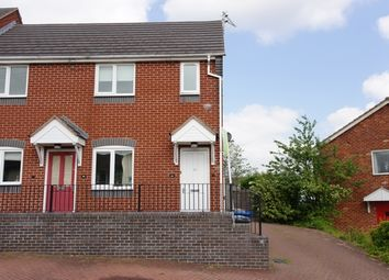 Thumbnail 2 bed maisonette to rent in Fernleigh Avenue, Burntwood