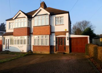 Thumbnail 3 bed semi-detached house to rent in Long Lane, Hillingdon, Uxbridge