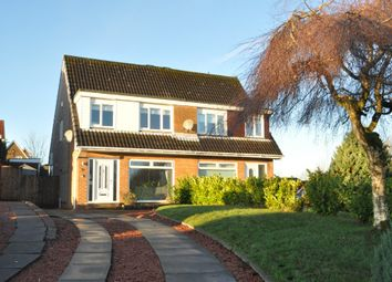 Thumbnail 3 bed semi-detached house for sale in Rosehill Road, Torrance, East Dunbartonshire