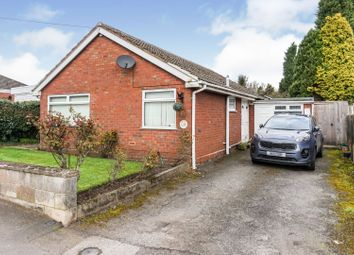 Thumbnail 3 bed detached bungalow for sale in 12 Leicester Road, Swadlincote