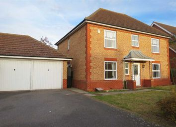Thumbnail 4 bed detached house for sale in Hermes Way, Sleaford