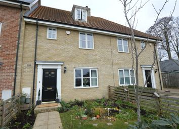 Thumbnail 4 bed town house for sale in Lord Nelson Drive, Costessey, Norwich, Norfolk