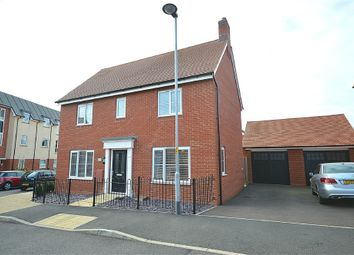 Thumbnail 3 bed detached house for sale in Maxwell Crescent, Duston, Northampton