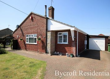 Thumbnail 3 bed detached bungalow for sale in Long Beach Estate, Hemsby, Great Yarmouth