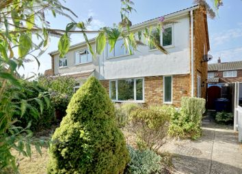 Thumbnail 3 bed semi-detached house for sale in Springfield Close, St. Neots, Cambridgeshire