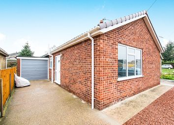 Thumbnail 2 bed bungalow for sale in Goldfinch Close, Skellingthorpe, Lincoln