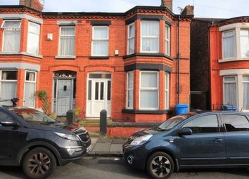 Thumbnail 3 bedroom terraced house for sale in Grovedale Road, Mossley Hill, Liverpool