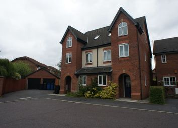 Thumbnail 3 bed town house for sale in Lytham Close, Great Sankey, Warrington