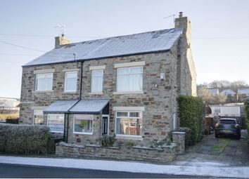 Thumbnail 3 bed semi-detached house for sale in Howards Buildings, Castleside, Consett