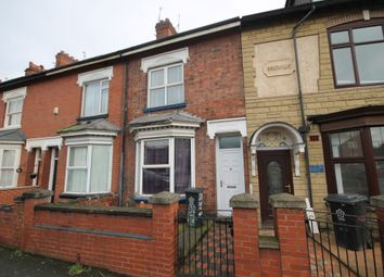 Thumbnail 3 bed terraced house to rent in Fosse Road North, West End, Leicester