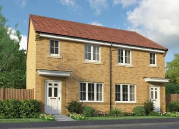 Thumbnail 2 bedroom semi-detached house for sale in Grazier Close, Thorpe Willoughby, Selby