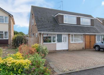 Thumbnail 3 bed semi-detached house for sale in Belgrave Close, Barton Seagrave, Kettering
