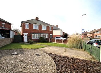 Thumbnail 2 bed semi-detached house to rent in Broomhill Walk, Knottingley, West Yorkshire
