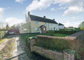 Thumbnail 3 bedroom semi-detached house for sale in Bells Lane, Hinderclay, Diss