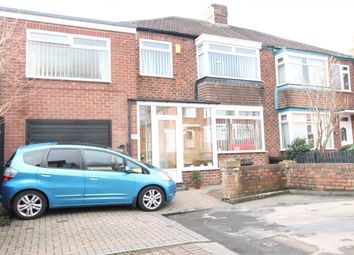 Thumbnail 4 bed semi-detached house for sale in Hillcrest Avenue, Stockton-On-Tees