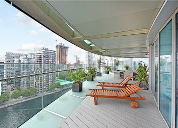 Thumbnail 3 bed flat to rent in Arena Tower, 25 Crossharbour Plaza, London