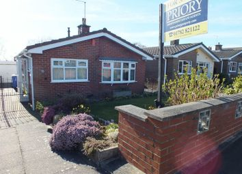 Thumbnail 2 bed detached bungalow for sale in Dunwood Drive, Burslem, Stoke-On-Trent