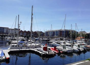 Thumbnail 2 bed flat for sale in Weavers House Maritime Quarter, Marina, Swansea