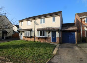 Thumbnail 3 bed semi-detached house for sale in Worthele Close, Ivybridge