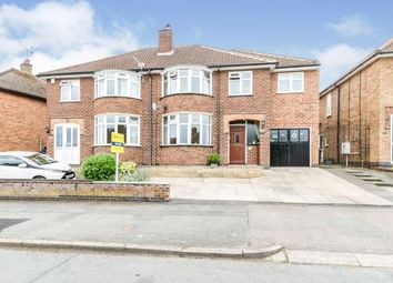 Thumbnail 4 bed semi-detached house for sale in Woodgate Drive, Birstall, Leicester, Leicestershire