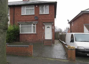 Thumbnail 3 bed end terrace house to rent in Hollycroft Road, Handsworth, Birmingham