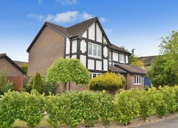 Thumbnail 4 bed detached house for sale in Mayflower Gardens, Bishop's Stortford