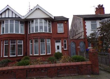 Thumbnail 4 bed semi-detached house for sale in Mere Road, Blackpool, Lancashire