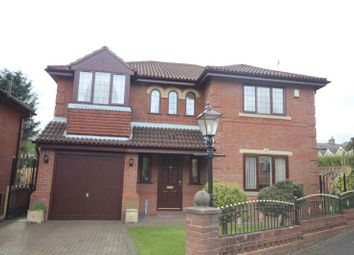 Thumbnail 4 bed detached house for sale in Hillkirk Drive, Shawclough, Rochdale