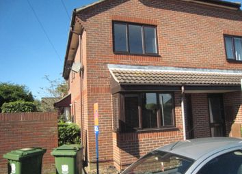 Thumbnail 1 bed semi-detached house to rent in Lower Quay Road, Fareham