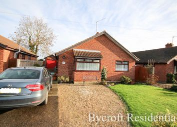 Thumbnail 2 bed detached bungalow for sale in The Thoroughfare, Potter Heigham, Great Yarmouth