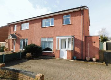 Thumbnail 3 bed semi-detached house for sale in The Drive, Doxey, Stafford