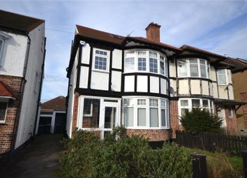 Thumbnail 4 bed semi-detached house for sale in Walfield Avenue, Whetstone, London
