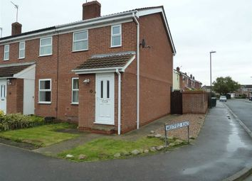Thumbnail 2 bed semi-detached house to rent in Oak Road, North Duffield, Selby