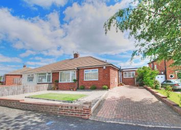Thumbnail 3 bed semi-detached bungalow for sale in South Bend, Gosforth, Newcastle Upon Tyne