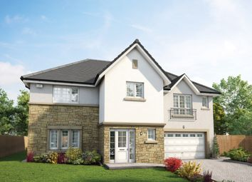 "Thumbnail 5 bedroom detached house for sale in ""The Kennedy"" at Woodilee Road, Lenzie, Kirkintilloch, Glasgow"