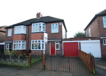 Thumbnail 3 bed semi-detached house for sale in Ridgewood Gardens, Gosforth, Newcastle Upon Tyne