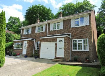 Thumbnail 3 bed semi-detached house for sale in Martin Way, St. Johns, Woking