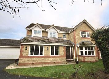 Thumbnail 5 bed detached house for sale in Fox Close, Chippenham, Wiltshire