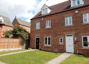 Thumbnail 4 bed town house for sale in Leicester Crescent, Worksop