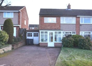 Thumbnail 3 bed semi-detached house for sale in Rowallan Road, Four Oaks, Sutton Coldfield