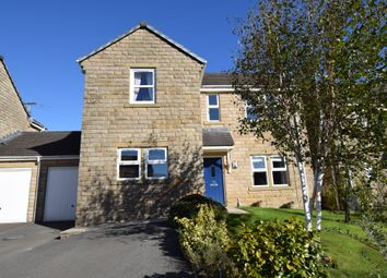 Thumbnail 5 bed link-detached house for sale in Meadow Lane, Slaithwaite, Huddersfield