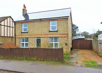Thumbnail 3 bed detached house for sale in Field Road, Ramsey, Huntingdon, Cambridgeshire
