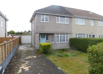 Thumbnail 3 bed semi-detached house for sale in Rossall Avenue, Little Stoke, Bristol