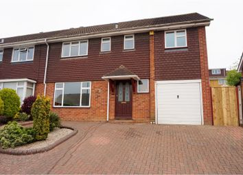 Thumbnail 4 bed semi-detached house for sale in Birchfields, Walderslade, Chatham