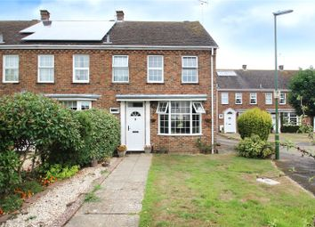 Thumbnail 3 bed end terrace house to rent in Woodlands Avenue, Rustington, West Sussex