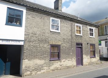 Thumbnail 2 bed terraced house for sale in The Old Wine Vaults Cottage, Hungate, Beccles