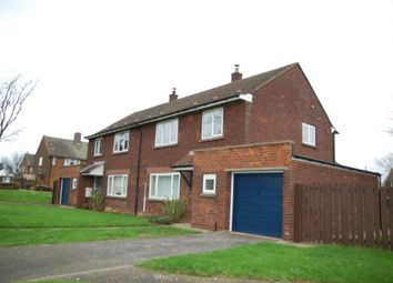 Thumbnail 3 bed semi-detached house to rent in Cranwell Close, Kirton Lindsey, Gainsborough