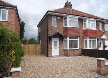 Thumbnail 2 bed semi-detached house to rent in Melton Avenue, York